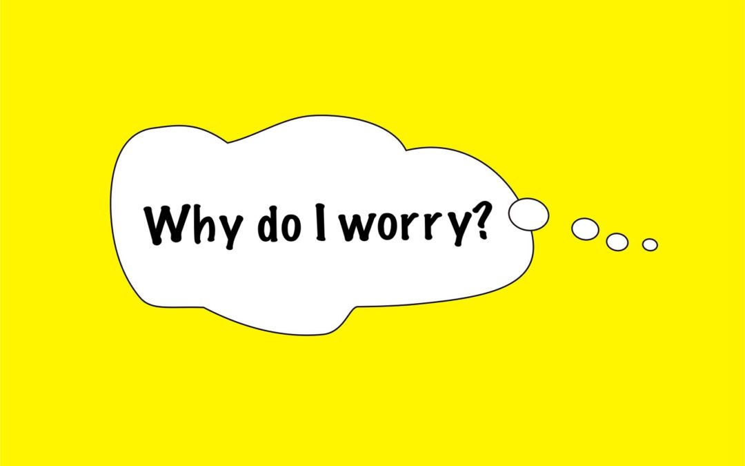 'WHY DO I WORRY?', A Parent and Child Workshop (age 6-9yrs)